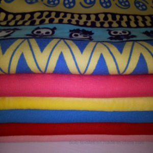 Polyester Fabric/Polar Fleece/Superfinefiber/Spandex Velvet/Flannelette/Knitted Elastic Velvet pictures & photos