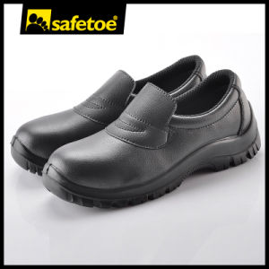 Black ESD Safety Shoes L-7019 pictures & photos