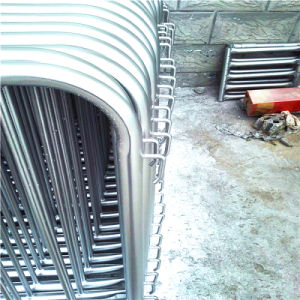 Galvanized Crowd Control Barriers Used for Construction Site