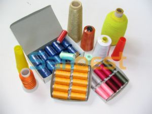 Colorful Embroidery Thread on Small Reels with High Quality pictures & photos