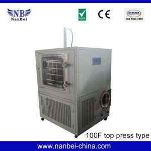 10kg Silicon Heating Fruit Vacuum Freeze Drying Machine pictures & photos