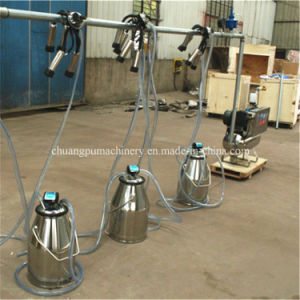 Cow Milking Machine Price with Milking Buckets pictures & photos