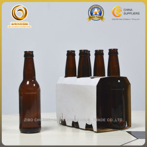 Wholesale Brown Crown Top 330ml Beer Glass Bottle (040) pictures & photos