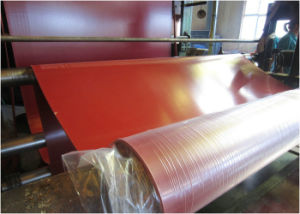Red, Orange Color Gum Rubber Sheet, Natural Rubber Lining with Sand Surface pictures & photos