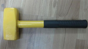 800g German Type Steel Handle Club Hammer