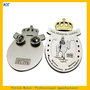 Customized Logo Epoxy Filling Label Pin pictures & photos
