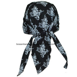 Factory Produce Custom Print Cotton Motorcycle Biker Pirate Headwraps pictures & photos