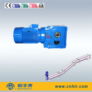 Screw Conveyors K Series Helical Bevel Gear Box pictures & photos