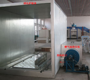 Powder Heating Oven for Electrostatic Powder Coating pictures & photos