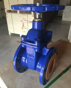 DIN 3352 F4 Soft Seat Non Rising Stem Gate Valves pictures & photos