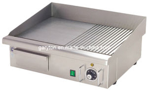 Comercial Electric Grill and Griddle for Grilling Food (GRT-E550-2) pictures & photos