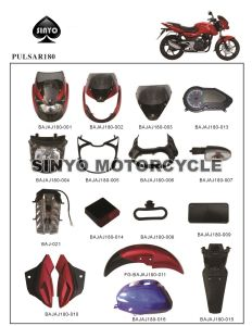 Bajaj Hot Sell Various Kinds Motorcycle Spare Parts pictures & photos