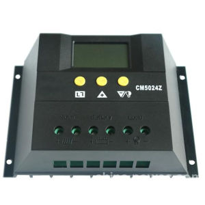 Solar Charge Controller with LCD Display PWM 12V/24V/48V pictures & photos