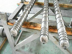PE Film Blowing Screw Barrel / Screw and Barrel for PVC Foam Core Pipes Plastic & Rubber Machinery Parts pictures & photos