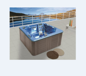 Square 5 Person Acrylic Massage SPA Tub (M-3327) pictures & photos