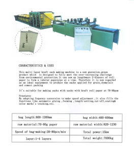 Cement Paper Bag Machine