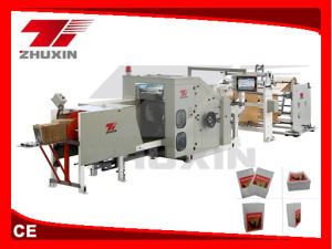 Square Bottom Paper Bag Making Machinery pictures & photos