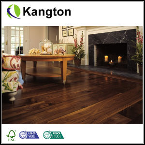 Top Quality Natural Walnut Flat Surface Solid Wood Flooring (Solid wood flooring) pictures & photos
