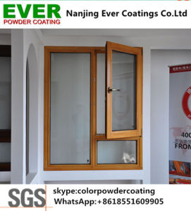 Security Door Sublimation Heat Transfer Print Wood Finish Polyester Powder Coating Powder Paint pictures & photos