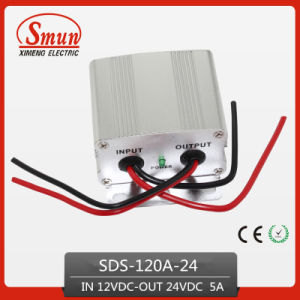 120W 12VDC-24VDC 5A Power Converter Step up Transformer pictures & photos
