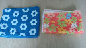 Microfiber Cloth with Logo Pattern Printing, Microfiber Cleaning Towel pictures & photos