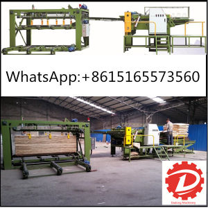 Hot Sale Woodworking Veneer Jointing Machine Plywood Core Veneer Splicing Machinery pictures & photos