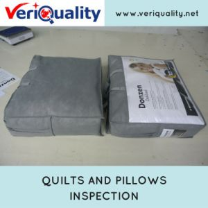 Quilts and Pillows Quality Control Inspection Service at Tongxiang, Zhejiang pictures & photos