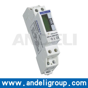 Single Phase DIN-Rail Watt-Hour Meter (ADM25SC) pictures & photos