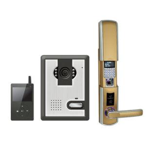 Remote Controlled Wireless Door Lock