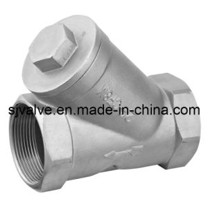 ISO Stainless Steel Y Type Strainer pictures & photos