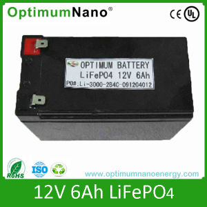 LiFePO4 Battery Pack 12V 6ah Video, Solar Street Light Battery pictures & photos