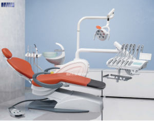 Hot Selling Dental Chair with Rotatable Unit Box