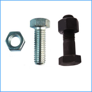 M6-M30 8.8 Grade Hex Bolt and Nut pictures & photos