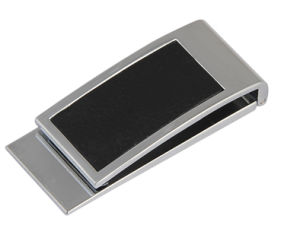 Promotional Gift High Quality Personalized Metal Money Clip (F7008)