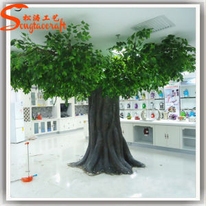 Factory Price Cheap Wholesale Fake Large Artificial Banyan Plant Tree pictures & photos