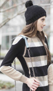 Patterned Cashmere Sweater (1500002052) pictures & photos