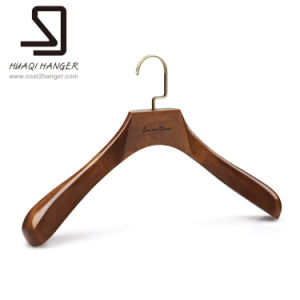 Luxury Wooden Hanger, Men′s Hanger, Cheap Clothes Hanger, Suit Hangers pictures & photos