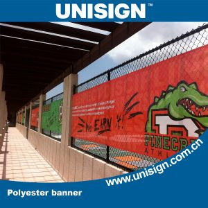 Polyester Mesh Fence Banner for Events and Sports pictures & photos