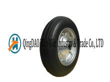 13 Inch Semi-Pneumatic Rubber Wheels for Wheelbarrows pictures & photos