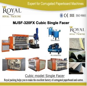 Cubic Model Single Facer High Speed Low Price High Quality pictures & photos