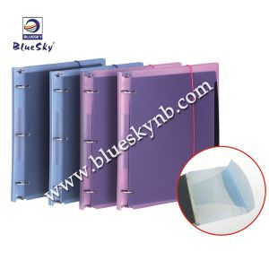 3 Ring Binder PP File with Strap Closure (BLY10 - 1222 PP)