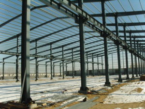 High Quality Solid Large Space Steel Warehouse pictures & photos