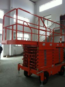 11m Semi-Electric Scissor Lift (JCPTG11) pictures & photos