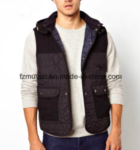 Men ′s Spring and Autumn Fashion Sleeveless Jacket