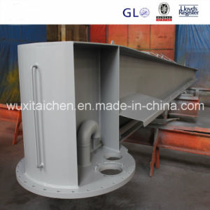 Steel Structure Fabrication Sandblasting Process pictures & photos