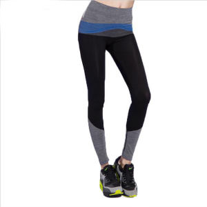 2016 New Arrival Women Yoga Pants High Elastic Fashion Professional Sports Trousers Fitness Women Running Pants Leggings pictures & photos