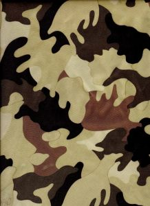 Camouflage Fabric Coating with Neoprene pictures & photos