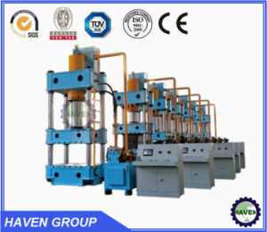 YQ32 HAVEN hydraulic press four column type with CE standrad pictures & photos