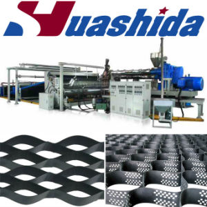 Plastic Geogrid Extruding Equipment Geotextile Material Production Line pictures & photos