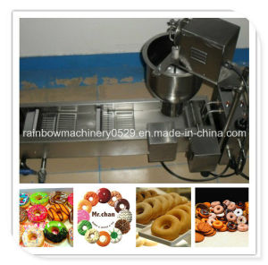 Stainless Steel Doughnut Making Machine with Fryer